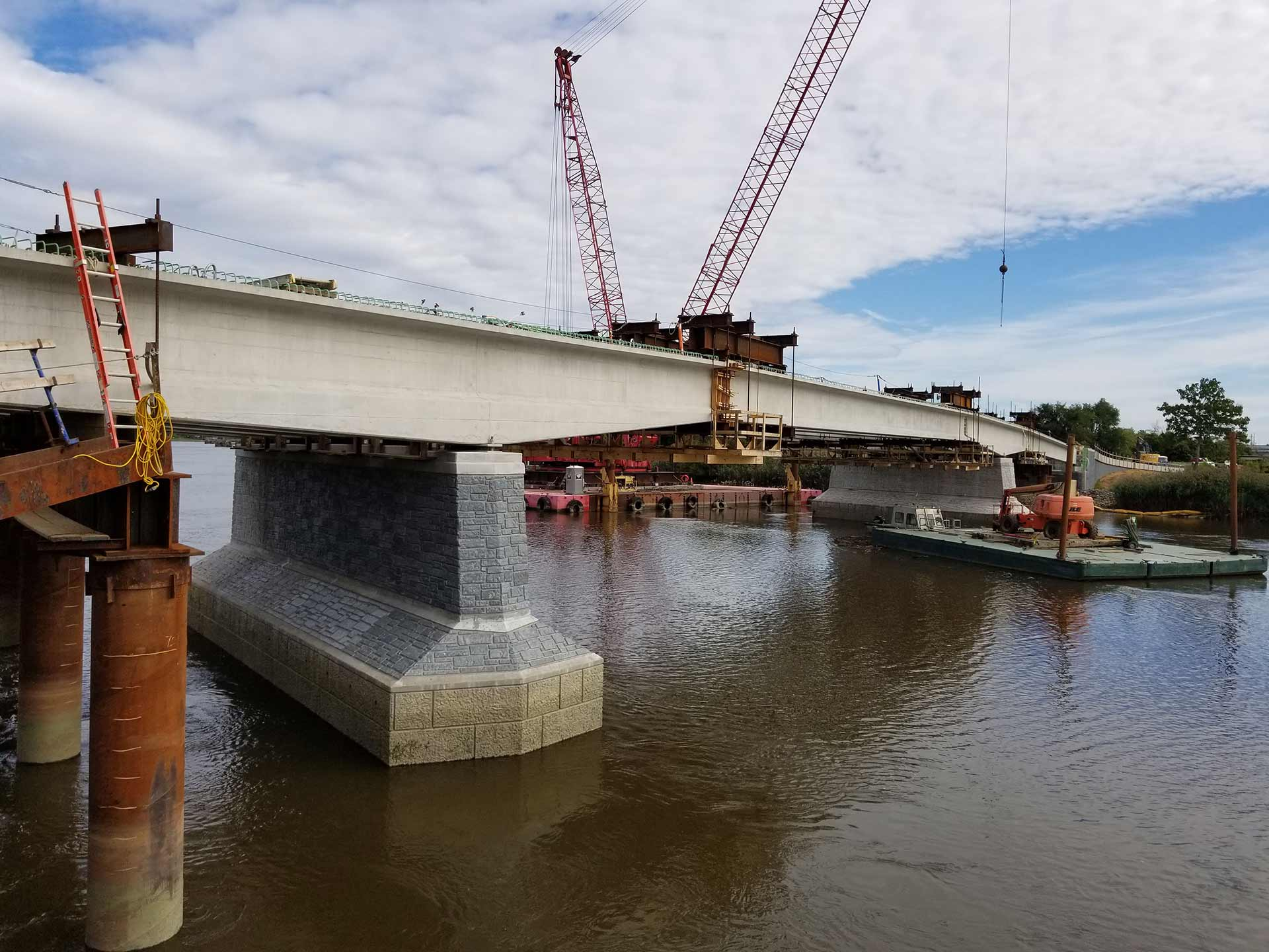 Christina River Bridge Sideview