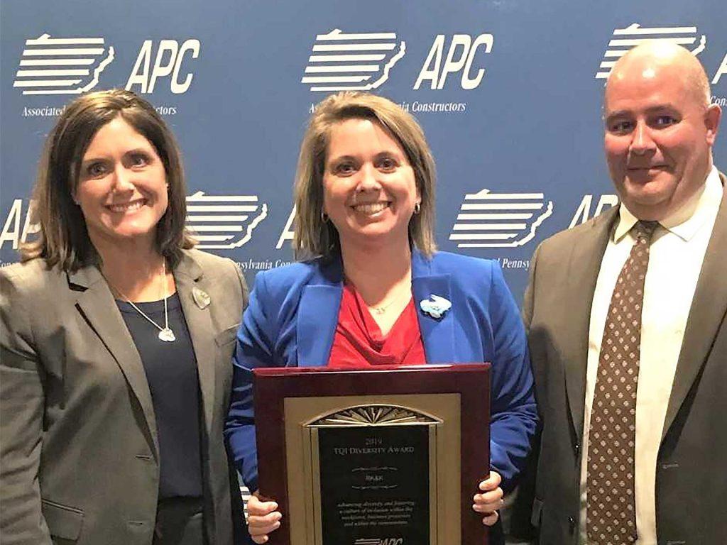 Jen Trimble Wins Diversity Award