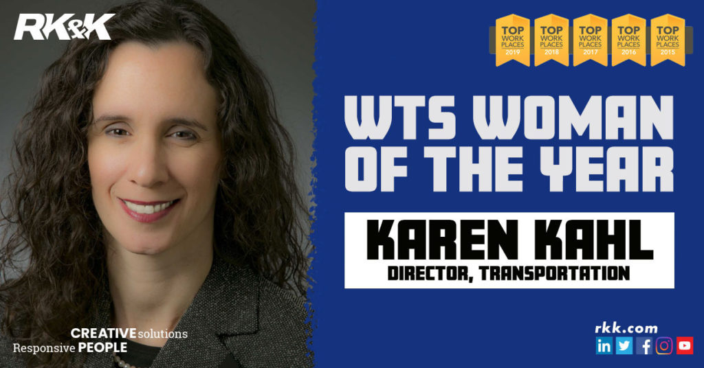 Karen Kahl, WTS Woman of the Year