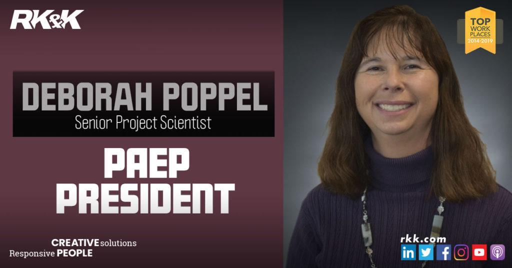 Deborah Poppel Elected PAEP President