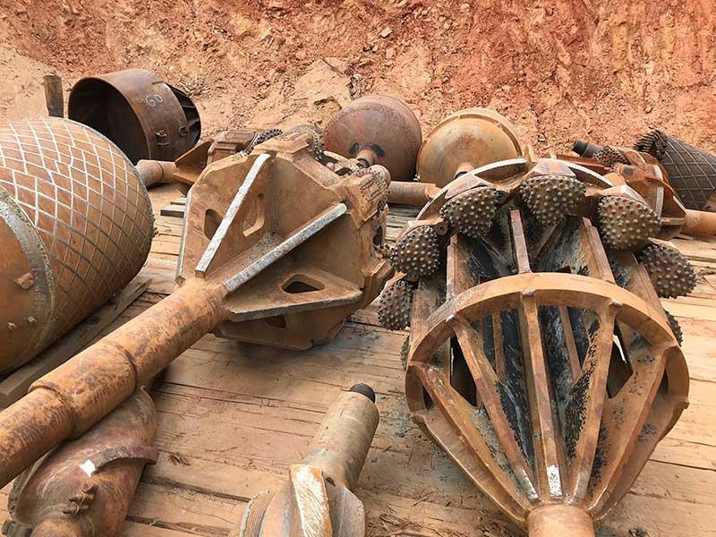 A closer look at drilling tools.