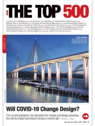 ENR Top 500 Design Firms 2020 Cover
