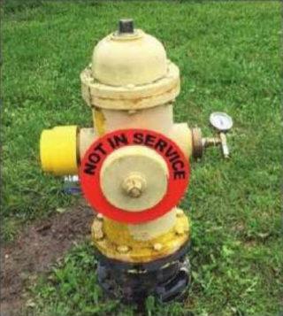 Telog® Pressure Recorder Installed on Hydrant